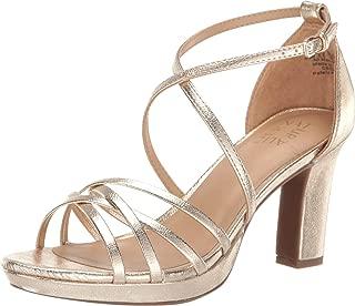 yellow strappy sandal heels