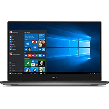 Dell XPS 15 XPS9550-4444SLV 15.6-Inch Traditional Laptop (Machined aluminum display back and base in silver) (Renewed)