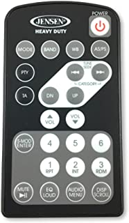 Jensen REMJHD10CC Credit Card Style Remote Control for Use with Jensen Heavy Duty JHD1120, JHD1130, JHD1510, JHD1620, JHD1630, JHD3510, JHD3620, JHD3630BT, JRV210, JRV212T Stereos