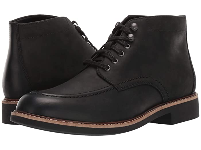 1940s Men's Fashion, Clothing Styles Bostonian Walker Mid Black Leather Mens Shoes $130.00 AT vintagedancer.com