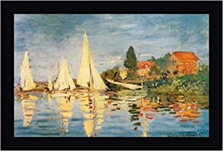 Sailboats at Argenteuil by Claude Monet 19