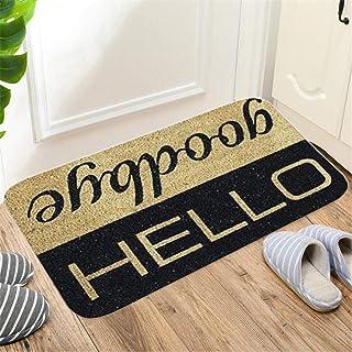 Welcome Home Letter Print Doormats Rectangle Non-Slip Doormat Bedroom Kitchen Entrance Print Floor Mat Doormats K2