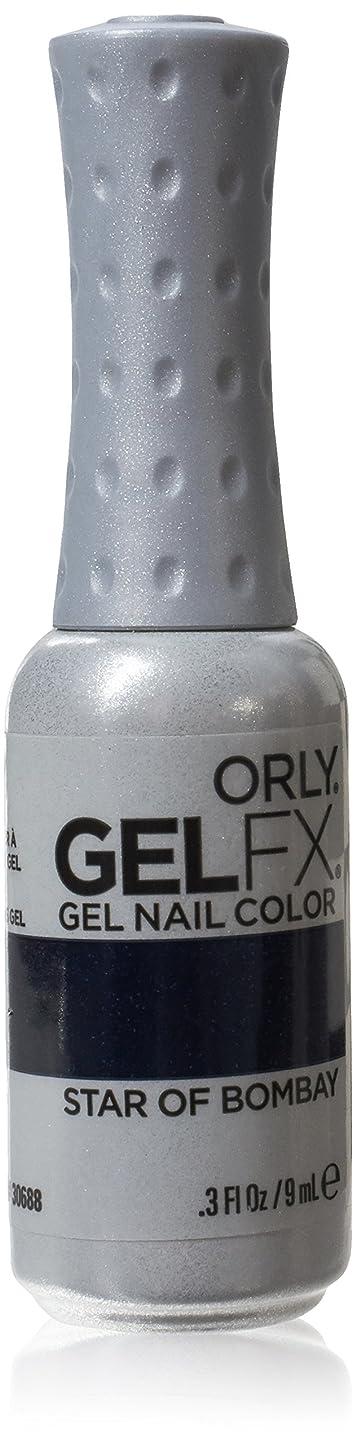 偏心公使館特にOrly GelFX Gel Polish - Star of Bombay - 0.3oz/9ml