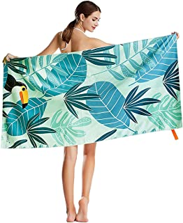 Emliyma Sloth Sinking Titanic Beach Towels Ultra Absorbent Microfiber Bath Towel Picnic Mat for Men Women Kids