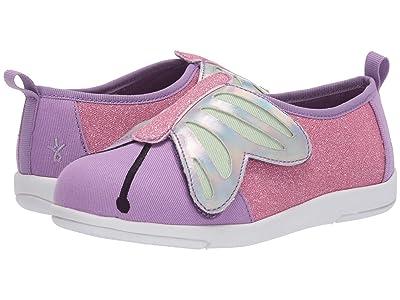 EMU Australia Kids Butterfly Sneaker (Toddler/Little Kid/Big Kid) (Violet) Girl