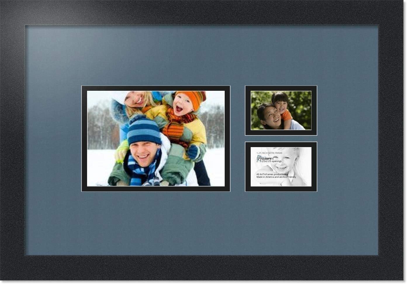 爆買い新作 ArtToFrames Collage Photo Frame Double and 2-2.25 格安 Mat with 1-5x7