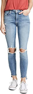 MOTHER Women's The Stunner Ankle Step Fray Jeans