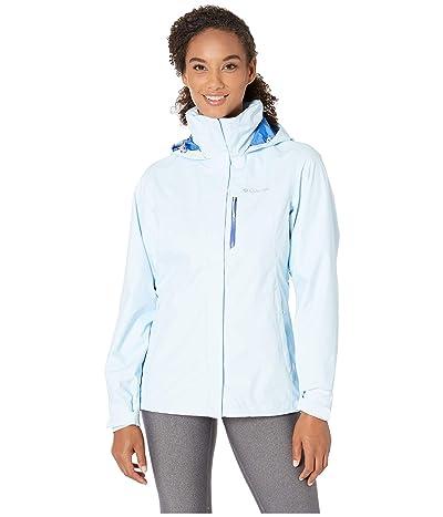 Columbia Pourationtm Jacket (Pale Blue/Arctic Blue) Women