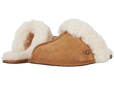 UGG Scuffette II Water-Resistant Slipper (Chestnut II) Women