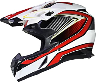 Protectwear casque de moto orange-noir Taille: 2XL casque de Cross casque Enduro FS603-OR