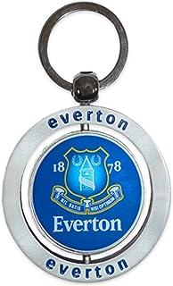 Everton Official Spinning Crest Keyring