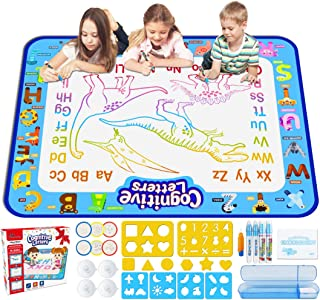 Jasonwell Aqua Magic Doodle Mat 40 X 32 Inches Extra Large Water Drawing Doodling Mat..