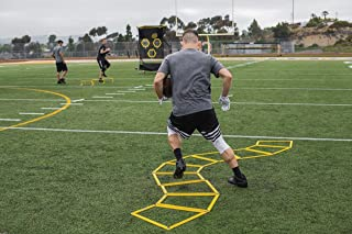 SKLZ Agility Trainer Pro Trapezoid Agility Trainers for Multi-Directional Ladder Patterns