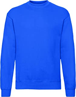 Fruit of the Loom Set-in Sweat Sudadera para Hombre