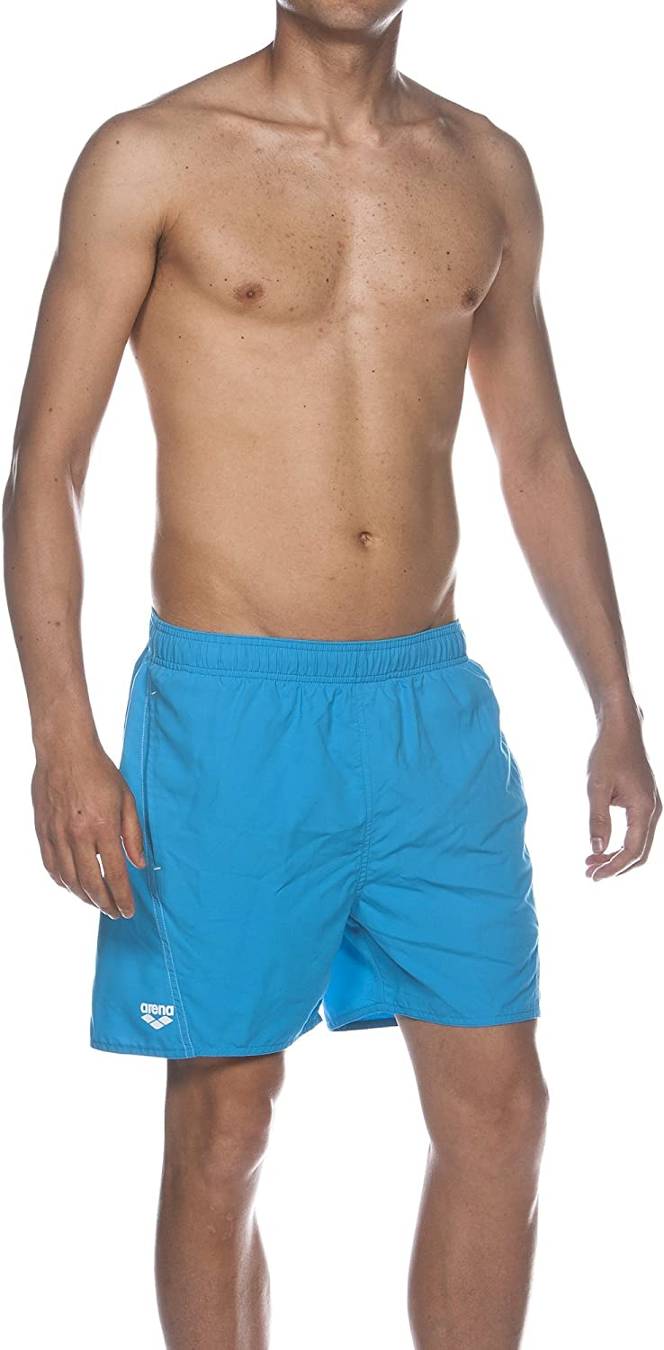 Arena Fundamental arena Logo Boxer Men Swimming Pants bluee 1B344   81