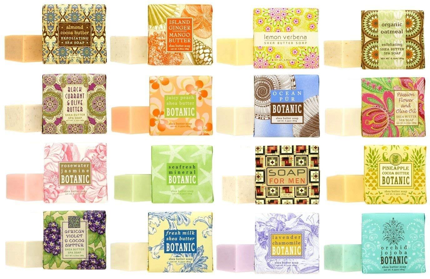 Greenwich Bay 2021 model Trading Company Regular dealer Soap Sampler pack of 16 1.9oz bars