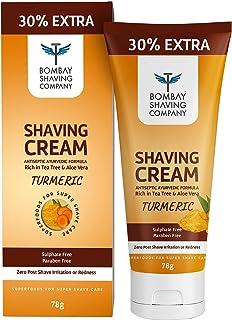 Bombay Shaving Company Turmeric Shaving Cream - 78g, Yellow