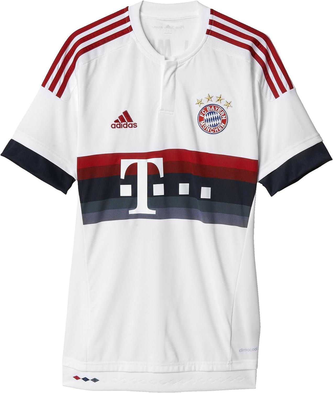 Amazon.com : Adidas Mens 2015 Bayern Munich Fc Away Jersey Small ...