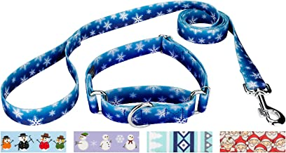 Country Brook Design - Martingale Collar & Leash - Christmas Collection