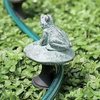 SPI Home 33146 Frog on Mushroom Hose Guard