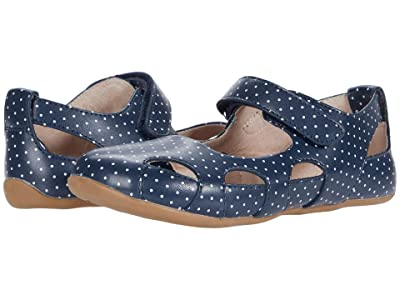 Livie & Luca Moon (Little Kid) (Navy Polka Dot) Girl