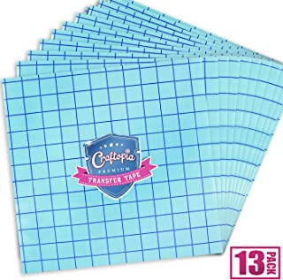 Transfer Tape Sheets for Vinyl 12