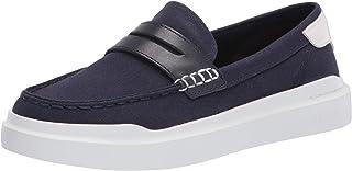حذاء رياضي رجالي أبيض اللون من Cole Haan MARINE BLUE/OPTIC