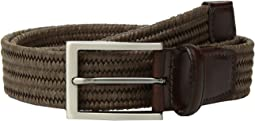 Torino Leather Co. 35mm Italian Flat Strand Braided Elastic Rayon