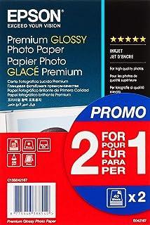 Epson 235B904 Papier Fotograficzny A6, 255g/m2, Biały, 2x40 Arkuszy