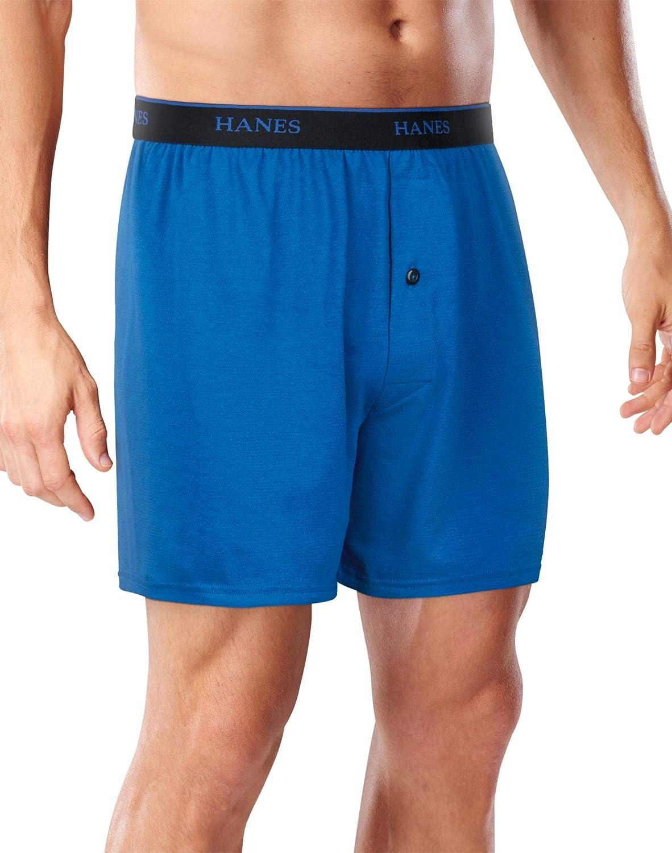 Hanes Mens FreshIQ Cool Comfort Breathable Mesh Boxer Briefs 2XL 3-Pack, 2XL