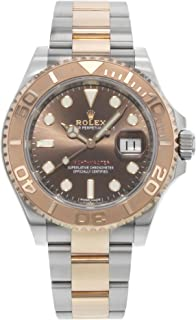 Yacht-Master Chocolate Dial Steel and 18K Everose Gold Oyster Mens Watch 116621CHSO