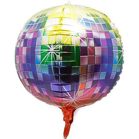 12 Hänge Deko Artikel Discokugel Sterne uvm Dekoration Party Geburtstag Feier