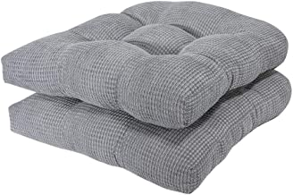 Arlee - Tyler Chair Pad Seat Cushion, Memory Foam, Non-Skid Backing, Durable Fabric, Superior Comfort and Softness, Reduce...