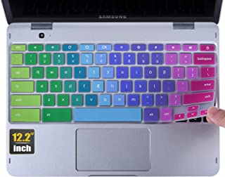 CaseBuy Keyboard Cover Compatible 2019/2018 Samsung Chromebook Pro Plus 12.2