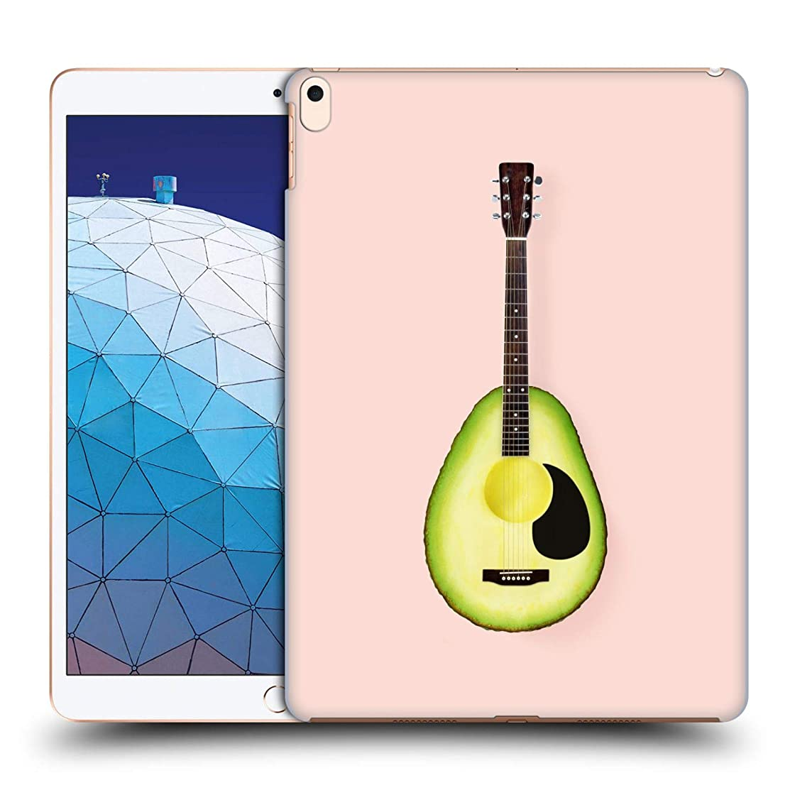 Official Paul Fuentes Avocado Guitar Pastels Hard Back Case Compatible for iPad Air (2019)