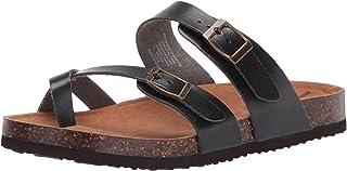 Amazon Essentials Kids' Open-Toe Flat Sandal