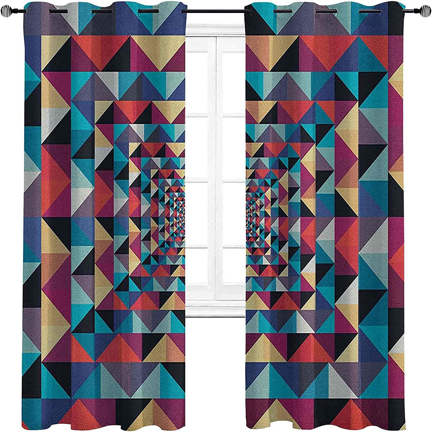Bombing free shipping Contemporary Blackout Curtains Limited price - Gasket Modern Style Insulation