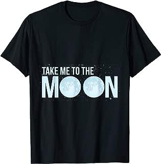 Tee Motiv Take me to the Moon Retro T-Shirt