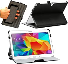 Navitech Black Faux Leather Case Cover with Stand Compatible with The Samsung Galaxy Tab S 10.5