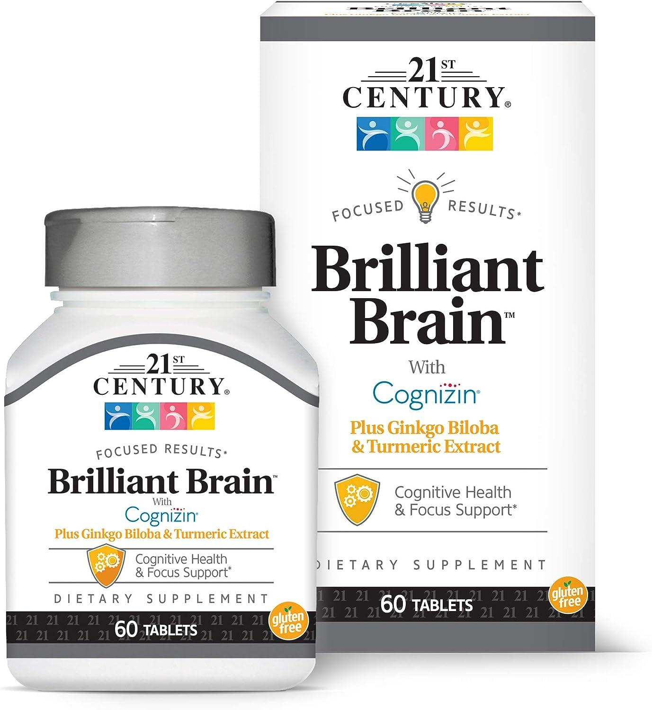 21st Century Brilliant Brain 60Count Supplements Japan Maker Surprise price New