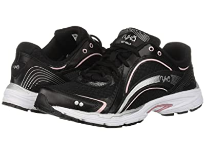 Ryka Sky Walk (Black/Pink) Women