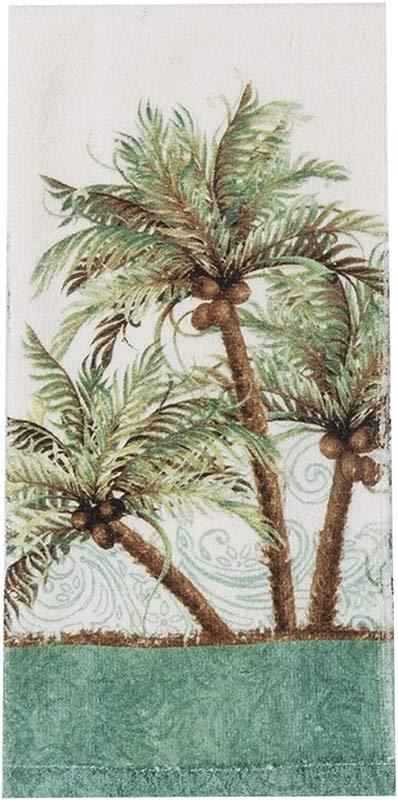 Kay Dee Designs Key West Palm Trees Terry Towel