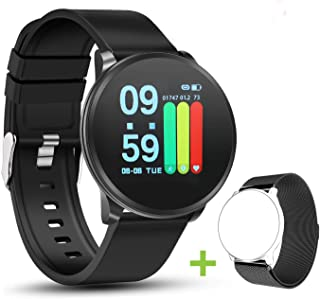 NEEKFOX Fitness Tracker, Activity Tracker with Heart Rate Monitor Sleep Tracking, Waterproof IP67 Smart Pedometer Watch with Step Calorie Counter, Running Sports Watch Bracelet for Children Women Men