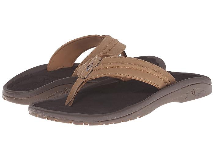 Hokua  Shoes (Tan/Tan) Men's Sandals