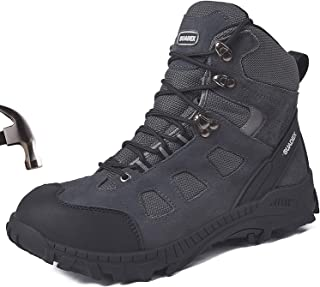 Details about  /Mens Work Boots Steel Toe Safety Shoes Reflective Strips Lightweight Sneakers US