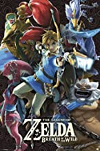 Pyramid America Legend of Zelda Breath of The Wild Divine Beasts Video Game Gaming Cool Wall Decor Art Print Poster 24x36