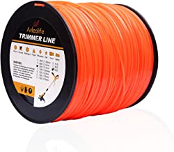 Anleolife 5-Pound Commercial Square .095-Inch-by-1280-ft String Trimmer Line in..