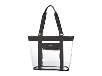 Baggallini Clear Event Compliant Tote (Charcoal) Handbags