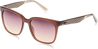 Lacoste Rectangle Sunglasses For Women - Brown Lens L861S-210 140 mm