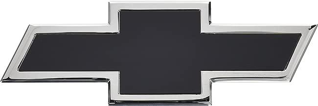 AMI 96091KC Chevy Bowtie Tailgate Emblem - Chrome/Black Powder coat, 1 Pack